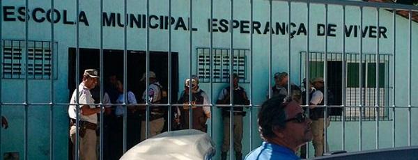 Escola segue fechada na Bahia (Foto: Ramon Ferraz / TV Bahia)